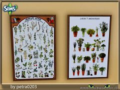 Sims 3 paintings, decor, spices