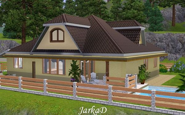 Sims 3 house, residential, building, lot