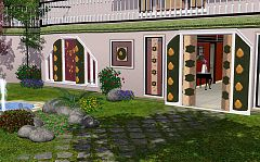 Sims 3 door, window, set