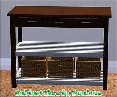 Sims 3 cabinet, furniture