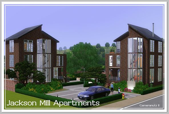 Sims 3 lot, residential, building, house