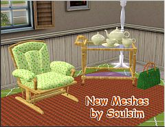 Sims 3 living, livingroom, furniture, sims