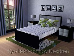 Sims 3 bedroom, furniture, sims